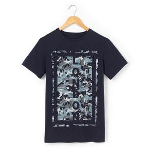 T-shirt 10-16 ans imprimé ''camouflage'' R pop