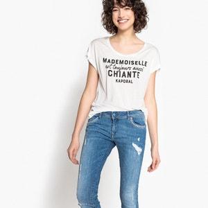 T-Shirt mit rundem Ausschnitt, unifarben KAPORAL 5