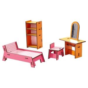 Accessoire maison de poupées : Little Friends : Coin beauté HABA