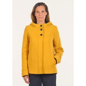 Duffe coat court en laine MAT DE MISAINE