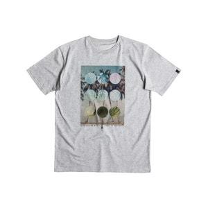 T-shirt com motivo estampado QUIKSILVER