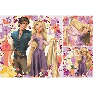 Puzzle 3 x 49 pièces - Disney Raiponce : Princesse Raiponce et Flynn Rider RAVENSBURGER