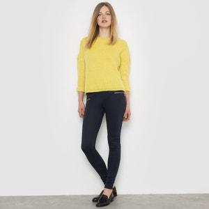 Legging in gestructureerd tricot, zakken met rits R édition