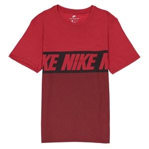 Bedrukt T-shirt met ronde hals en korte mouwen NIKE