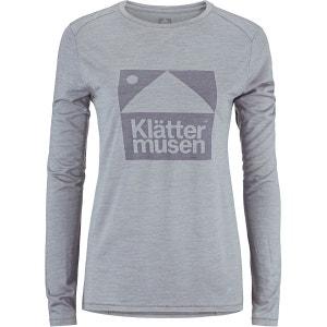 Eir - T-shirt manches longues - gris KLÄTTERMUSEN