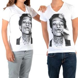 Tee Shirt Little Eleven Paris Wiz SS Mixte (Garçon / Fille) Wiz Khalifa Blanc LITTLE ELEVENPARIS