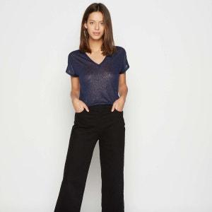 T-shirt en 100% Lin irisé MONOPRIX