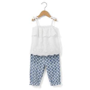 Ensemble débardeur + pantalon 1 mois - 3 ans R mini