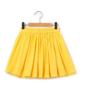 Textured Skater Skirt, 3-12 Years abcd'R