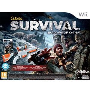 Cabela's Survival : Shadows of Katmai WII ACTIVISION