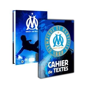 Cahier De Textes Om Bleu LA PLAGE
