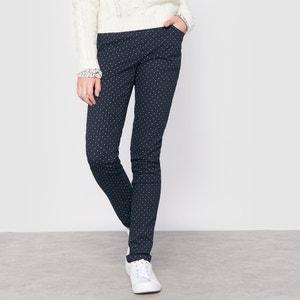 Slim Fit Polka Dot Print Trousers, 10-16 Years R pop