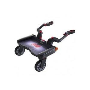 Planche à roulettes pour poussette Buggy Board Maxi Noir LASCAL