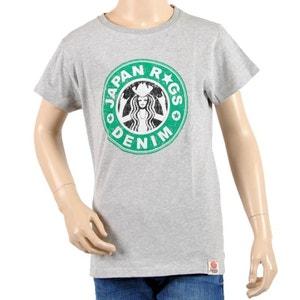 T-Shirt Japan Rags Enfant Garçon Picsou Gris JAPAN RAGS