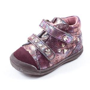 Babybotte Boots bordeaux AKEMI BABYBOTTE
