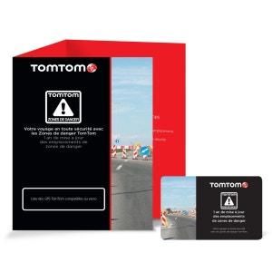 Carte TOMTOM 1 an de MAJ des zones de danger TOMTOM