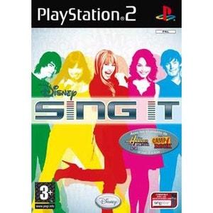 Disney Sing It Hannah Montana Camp Rock pour PS2 SONY