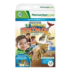 Jeu pour console LeapPad Mon Lecteur Leap : Le monde animal LEAP FROG