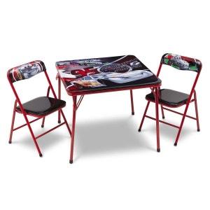 Ensemble table et chaises Pliante Cars Disney Delta DISNEY CARS