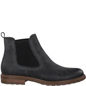 Boots cuir Belin TAMARIS
