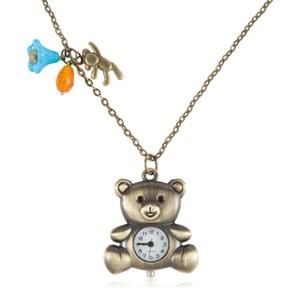 Montre collier à l'ourson, Winnie EXOTIC EXPRESS