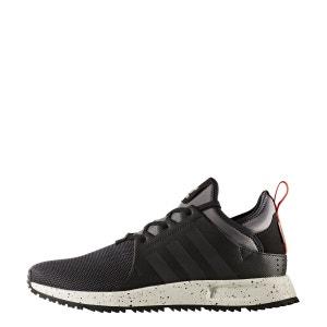 Baskets homme ADIDAS X PLR Sneaker Boot Toile  Homme Noir adidas