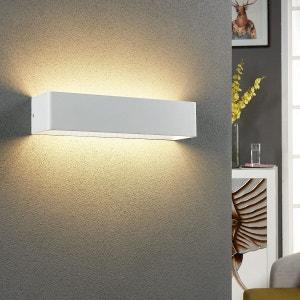 Applique LED rectangulaire Lonisa pour le salon LAMPENWELT