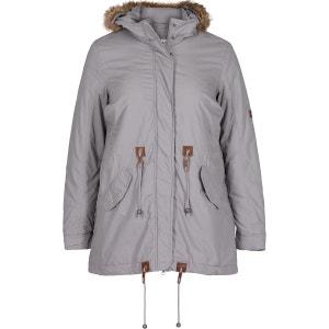 Manteau long à capuche ZIZZI