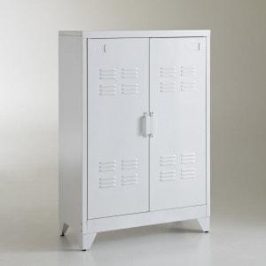 Vestiairekast, metaal, speciaal voor schuine want, Hiba La Redoute Interieurs