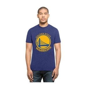 T-shirt 47 Brand Club Tee Golden State Warriors Bleu Chiné 47 BRAND