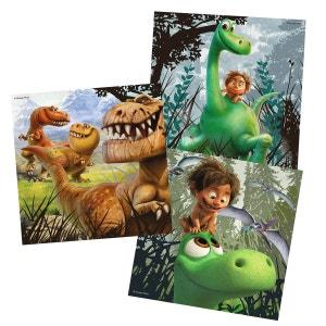 Puzzle 3 x 49 pièces : le voyage d'Arlo : Arlo, le gentil dinosaure RAVENSBURGER