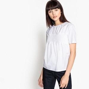 Tee-shirt à smocks MADEMOISELLE R