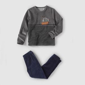 Pyjama, Samt, 2–12 Jahre abcd'R