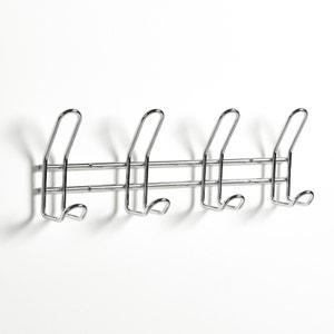 Perchero con 4 colgadores de acero cromado La Redoute Interieurs