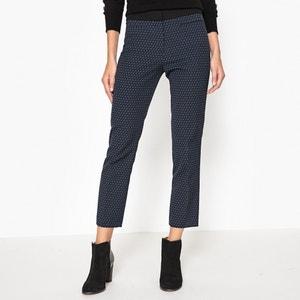 Pantalon slim jacquard bicolore SOPHIA GERARD DAREL