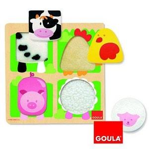 Puzzle Ferme / Etoffe - DIS53011 GOULA