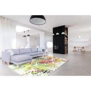 Tapis multicolore pour salon design Ringa ALLOTAPIS