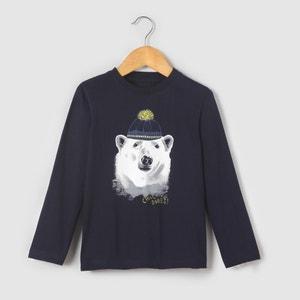 Camisola de mangas compridas ''urso'', 3-12 anos R édition
