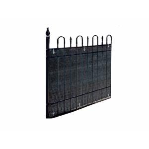 Brise vue pour balcon 500 x H.90 cm Ardoise JARDIDECO