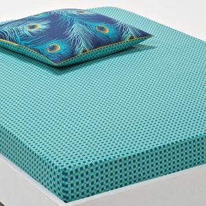Lençol-capa, percal de algodão Shakhra La Redoute Interieurs