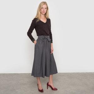 Jersey de pico jacquard de lana merina atelier R