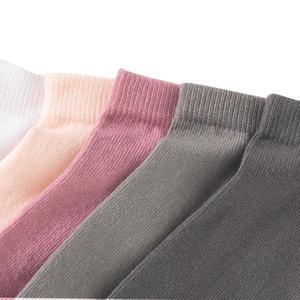 Socquettes en coton (lot de 5) La Redoute Collections