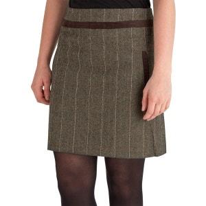 Mini jupe droite à carreaux pour femme JOE BROWNS