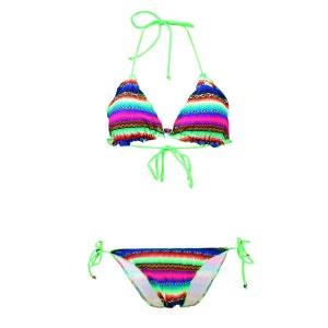 Maillot de bain 2 Pièces Triangle Tiny Froufrou Acapulco Smile Multicolore LOLITA ANGELS