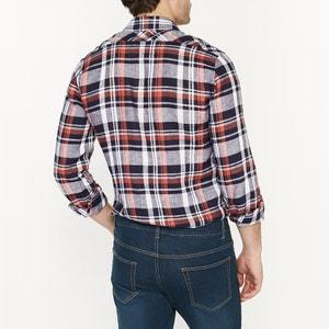 Chemise coupe droite 100 % lin R essentiel