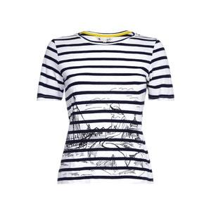 Short-Sleeved Striped T-Shirt YUMI