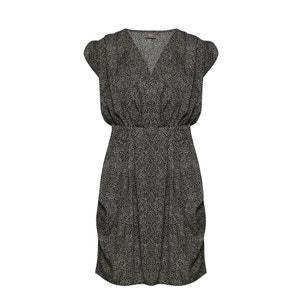 BRUCE Short-Sleeved Floaty Dress ICHI