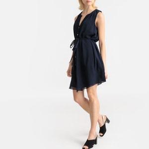 Wijd uitlopende jurk zonder mouwen Lageorgy