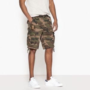 Lixir Camouflage Print Combat Bermuda Shorts KAPORAL 5