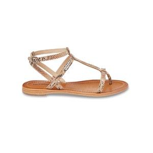 Hilan Flat Leather Sandals LES TROPEZIENNES PAR M.BELARBI